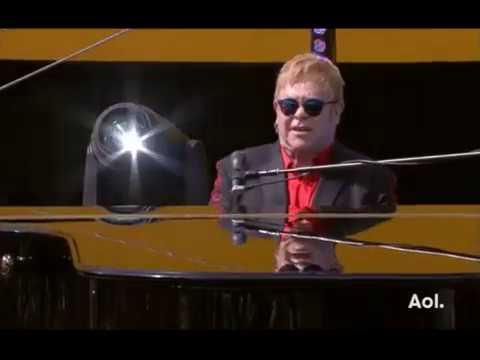 Elton John On Sunset Blvd