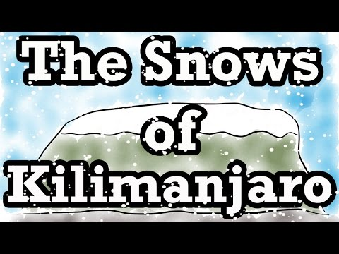The Snows of Kilimanjaro by Ernest Hemingway (Summary) - Minute Book Report