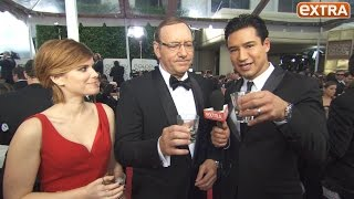 Tequila Shots With The Stars On The Golden Globes Red Carpet