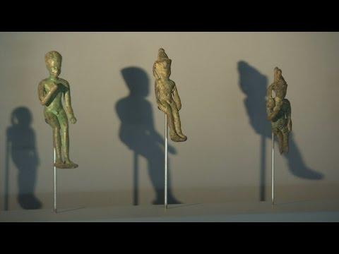 Underwater ancient Egyptian treasures go on display in Paris