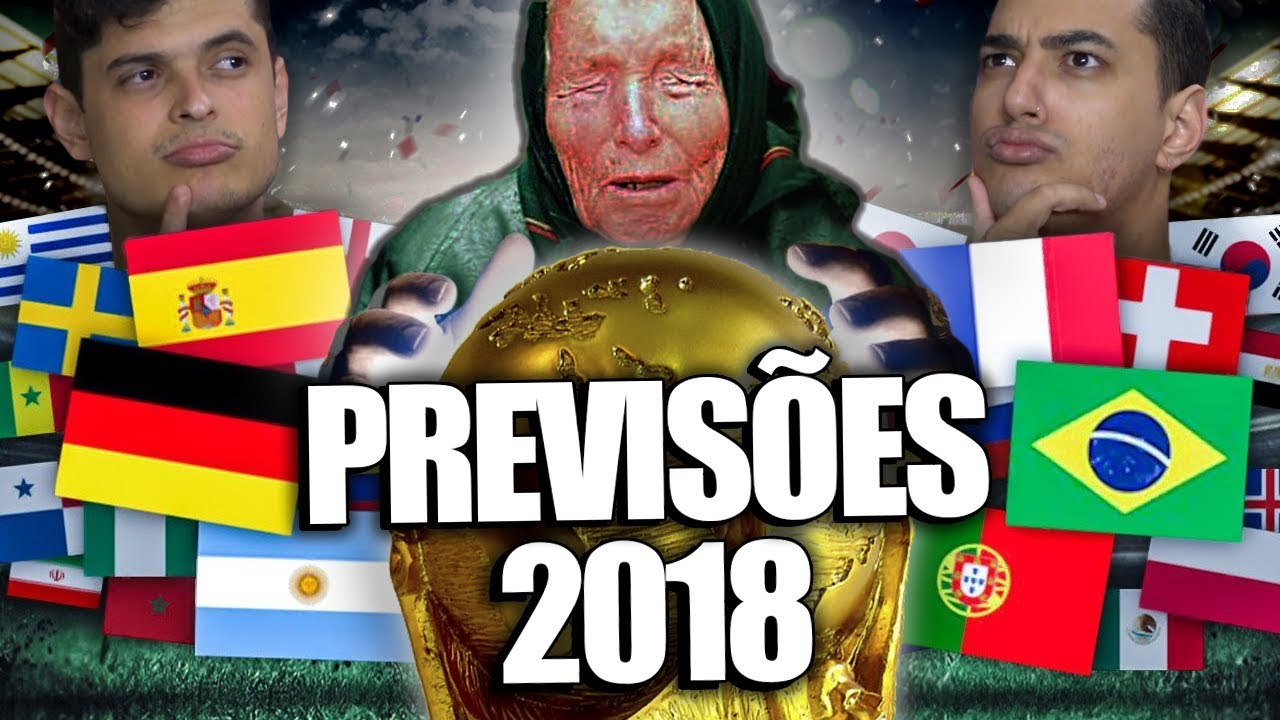 PREVISÕES PARA COPA DO MUNDO 2018 - O VENCEDOR !!