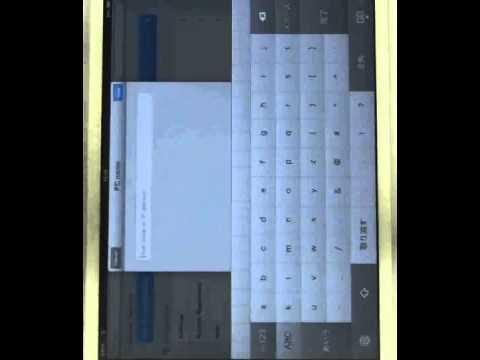 リモートデスクトップ接続 操作方法iPad