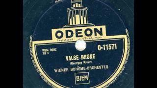 Wiener Bohème Orchester - Valse Brune