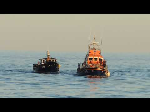 Returning to Harbour with Casualty Vessel on tow 2017
