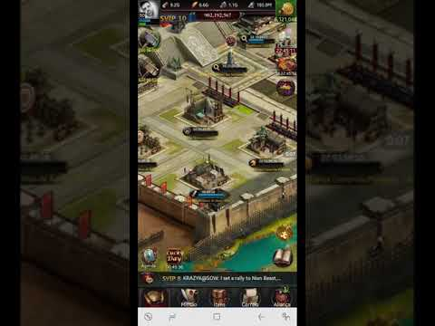 Clash Of Kings: Spending 5.000.000 Gold To Get 1M Power P6 Castle