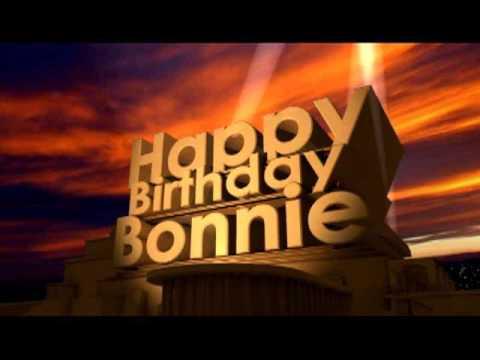 Happy Birthday Bonni Cake