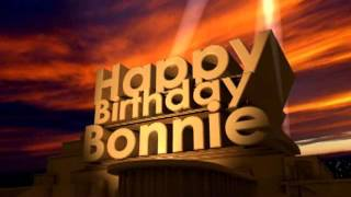 Happy Birthday Bonnie