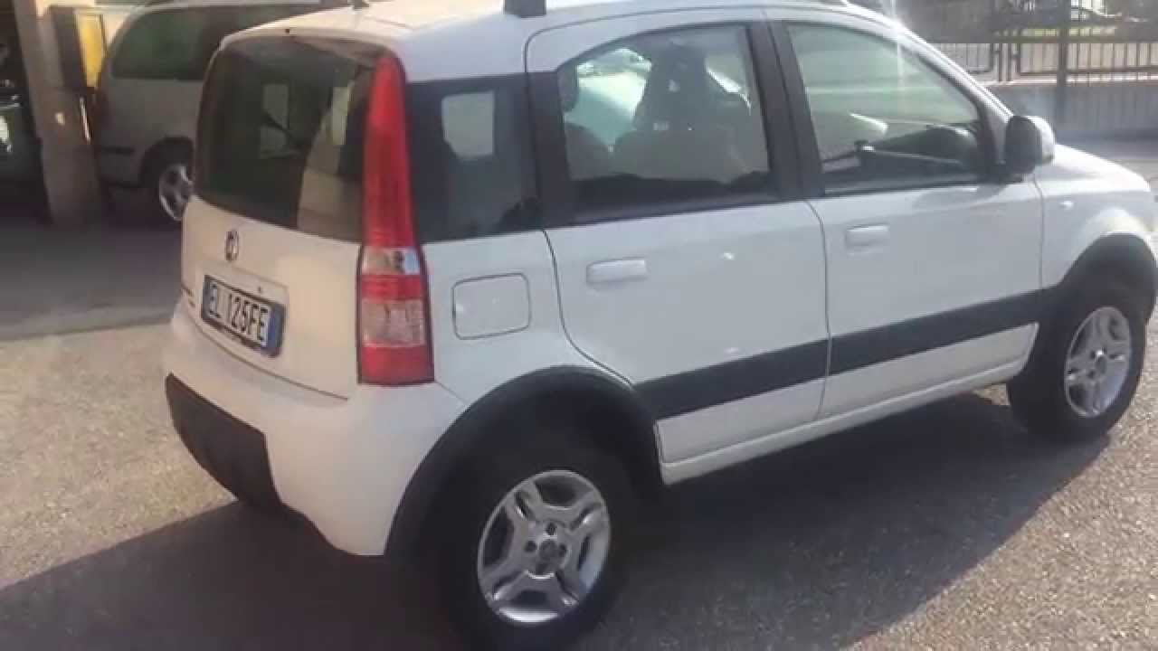 fiat panda 4x4 climbing 1 3 mtj diesel usata in vendita a brescia youtube. Black Bedroom Furniture Sets. Home Design Ideas