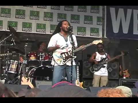 Ziggy Marley Live in Copley Square Boston.