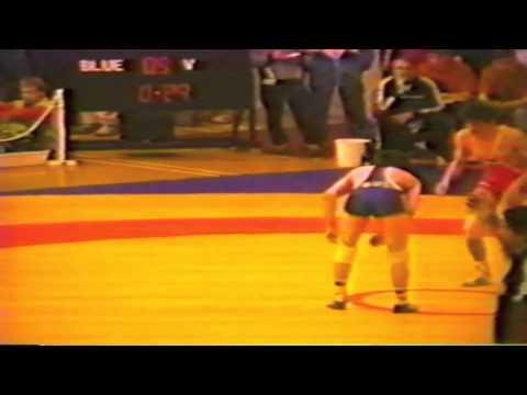1988 Senior European Championships: 52 kg Saban Trstena (YUG) vs. Valentin Jordanov (BUL)