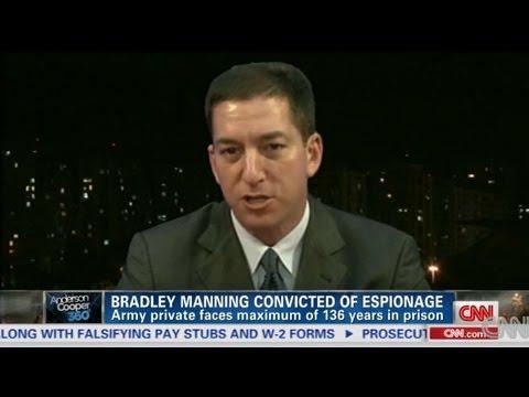 Glenn Greenwald Drops An Elbow On CNN Legal Analyst Jeffrey Toobin