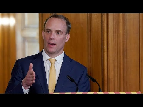 Watch Again: Dominic Raab Says 'We're Not Done Yet!' With Lockdown During Covid-19 Daily Presser