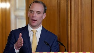 video: Coronavirus latest news: Dominic Raab says 'we're not done yet' as lockdown set to be extended - watch live