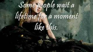 A Moment Like This - Kelly Clarkson with lyrics