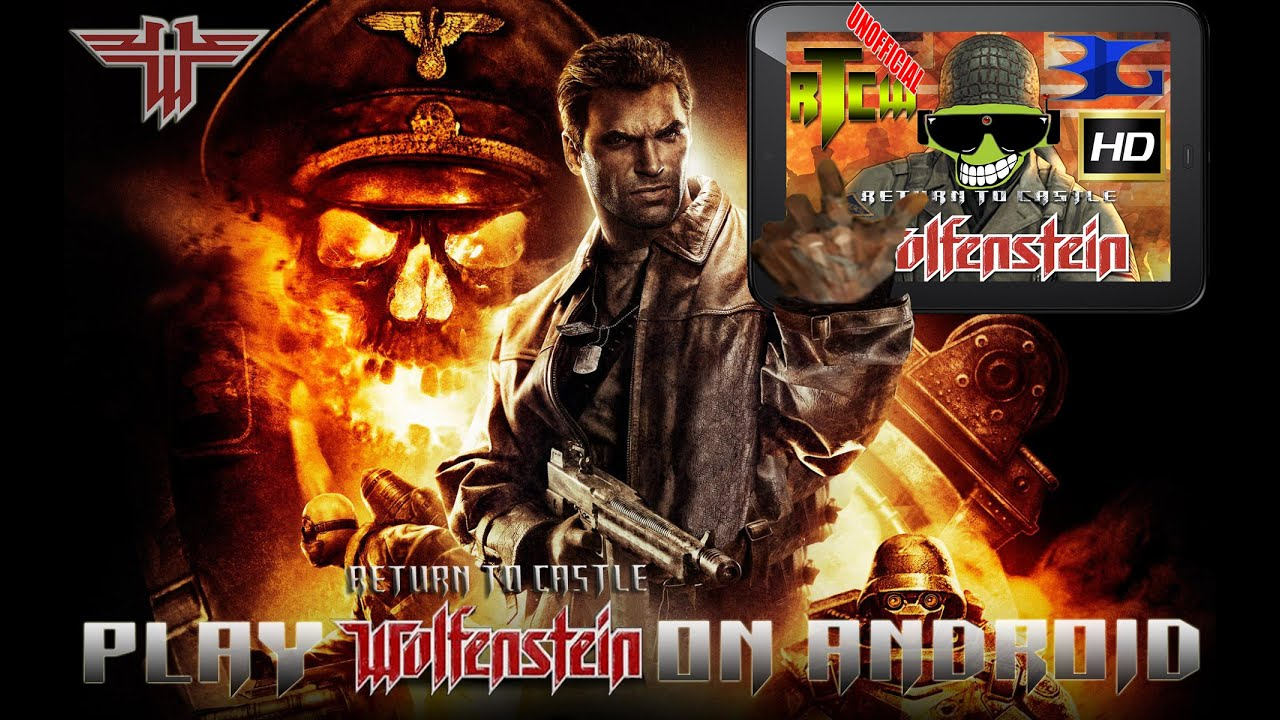 How to Play Return to Castle Wolfenstein on Android in HD (Beloko Games) by  RolandDeschain79