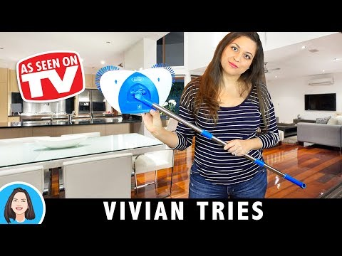 Hurricane Spin Broom Review | Testing As Seen On Tv Products
