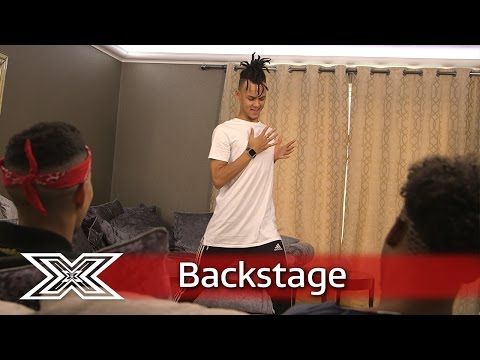 The X Factor Backstage with TalkTalk | 5 After Midnight play charades!