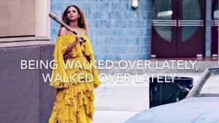 Hold up - Beyonce (lyrics)
