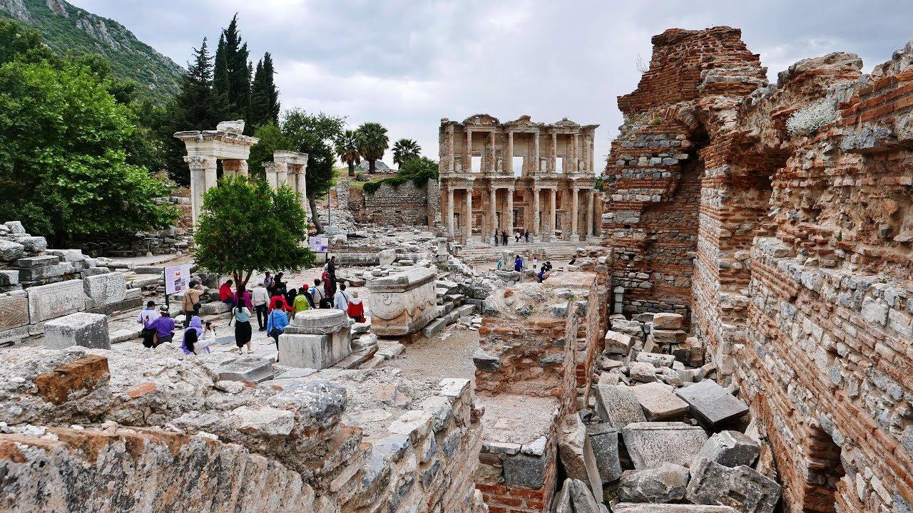 土耳其 - 希臘 羅馬 偉大遺跡 以弗所(艾菲索斯)Ephesus - YouTube