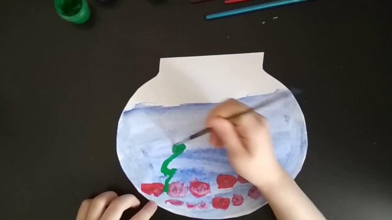 Рыбка в аквариуме - YouTube