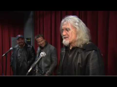 Billy Connolly talking at the Boston Premiere of The Boondock Saints II: All Saints Day.