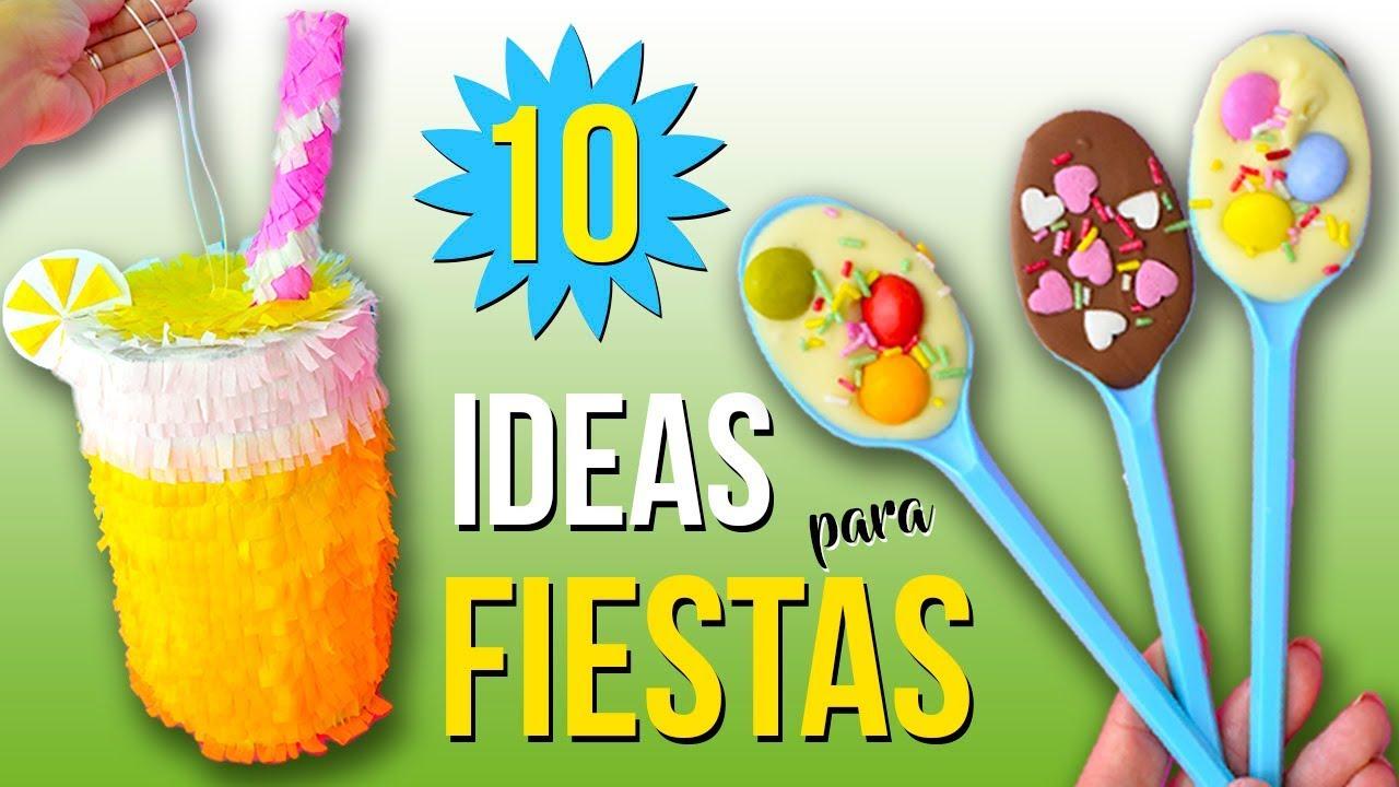 10 ideas para fiestas infantiles decoraciones f ciles - Ideas para decoracion ...