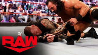 Randy Orton tries to fight off Drew McIntyre and Miz & Morrison: Raw, Nov. 2, 2020