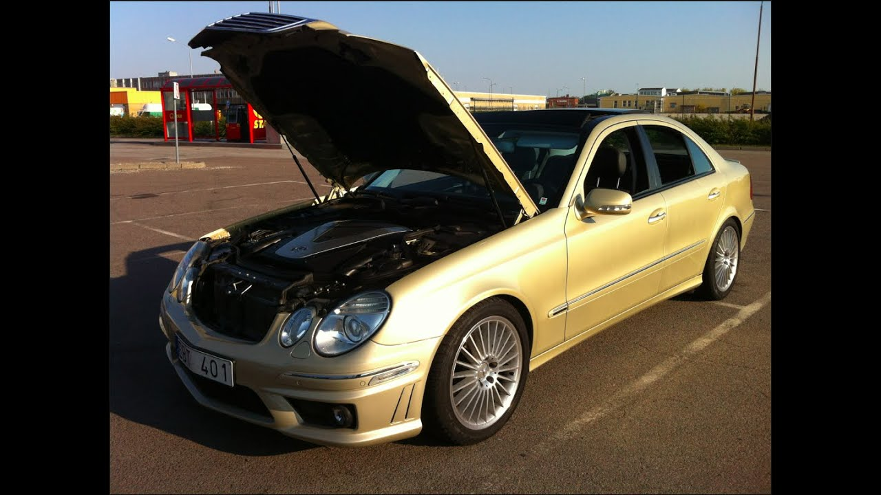 mercedes e 420 cdi kleemann tuned w straight pipes. Black Bedroom Furniture Sets. Home Design Ideas