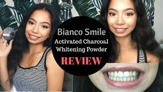 Gambar cover Bianco Smile Activated Charcoal Whitening Powder Review | nuhvayuh