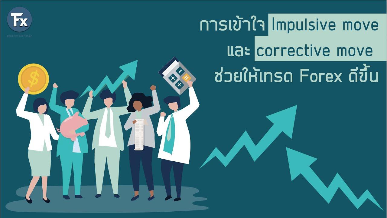 การเข้าใจ Impulsive move และ corrective move ช่วยให้เทรด Forex ดีขึ้น : thaiforexbroker.com: [051]