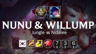 누누와 윌럼프 Jungle vs 니달리 - KR Challenger Patch 8.17