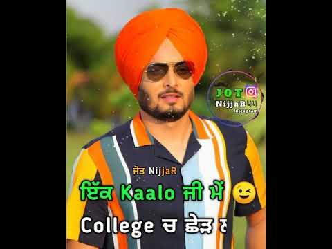 Fakran Di Zindgi Kulbir Jhinjer Whatsapp Status | Latest Punjabi Songs 2019 | Punjabi Whatsapp Statu