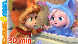 ☃️ The Twelve Days of Christmas |  Christmas Songs for Kids | Dave and Ava 🎄