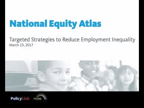 Targeted Strategies to Reduce Employment Inequality