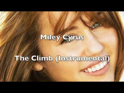 The Climb - Instrumental MP3 Karaoke - Hannah Montana