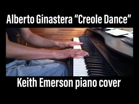 Keith Emerson Creole Dance piano solo cover YAMAHA P-150