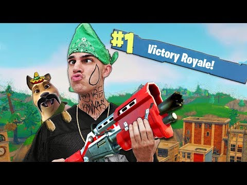 Lil Moco Plays FORTNITE! (Mexican Cholo Parody)