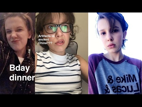 Millie Bobby Brown - Birthday Party & the search for Hot Water Bottles