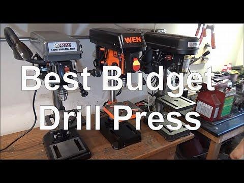 Best Budget Drill Press Harbor Freight Vs WEN