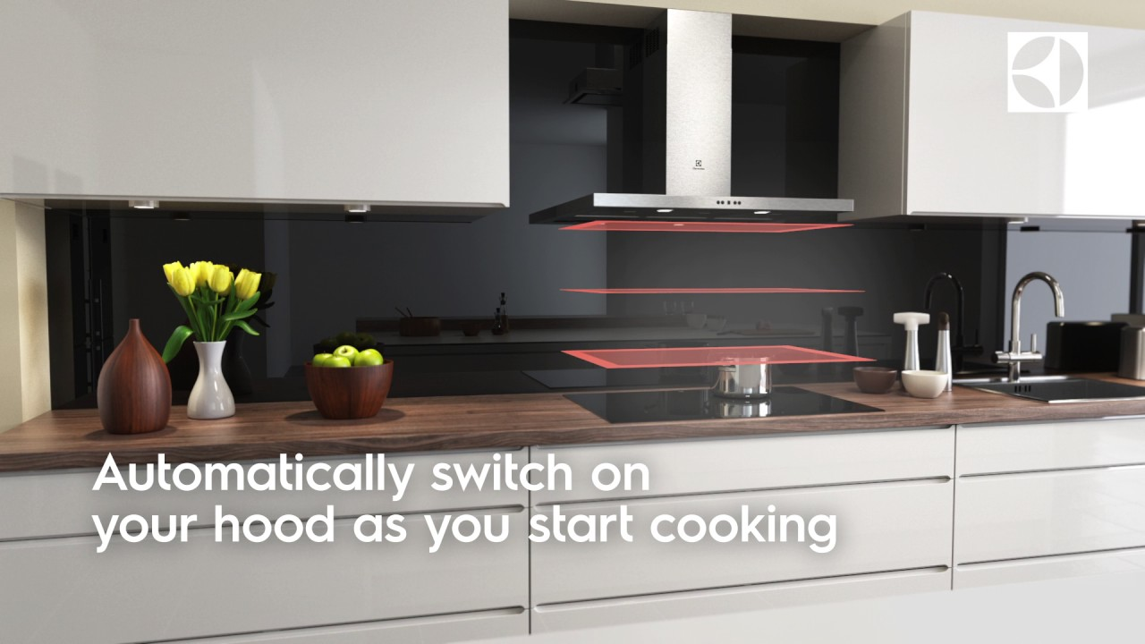 Hob2Hood Connect Chimney - Electrolux - Hob, Cooker Hood - YouTube