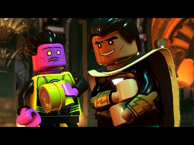 LEGO DC Super Villains Walkthrough Part 8 - Fight at the Museum