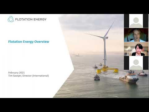 スコットランド洋上風力発電企業によるWebセミナー (Introducing Scottish Offshore Wind Companies to Japan)