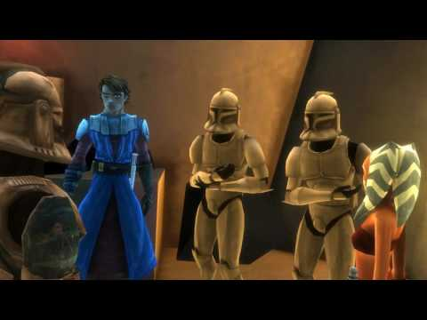 Прохождение игры Звёздные войны война клонов Часть 3