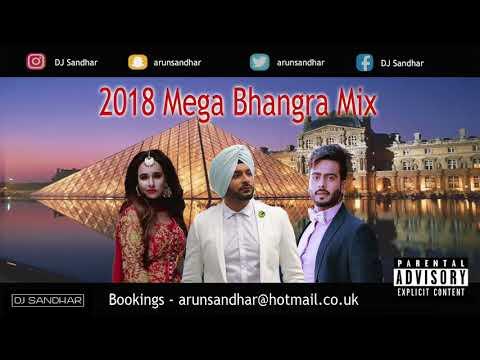 2018 Mega Bhangra Mix  1 Hour  Best Dancefloor Tracks