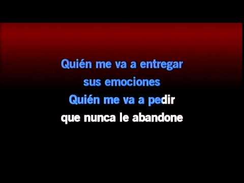 Karaoke  Corazón Partío Aljandro Sanz HD