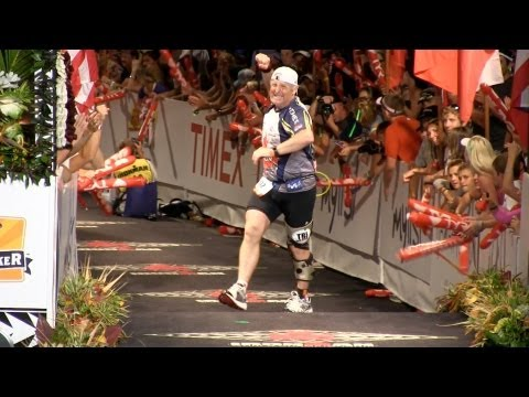 Watch the final few riveting moments of the 2012 Ironman World Championships