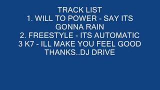 Sunday Night Freestyle Mix #107