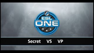 [ Dota2 ] Secret vs VP - ESL One New York 2014 Qualifier Europe - Thai Caster