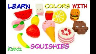Learn Colors With SQUISHIES