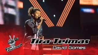 David Gomes – Stay | Tira-Teimas | The Voice Portugal